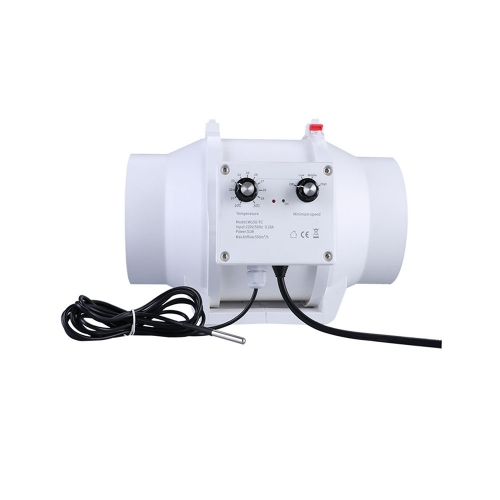 Ventilation Fan| Mixed Flow Fan with Speed Controller and Temperature Sensor | Weltech