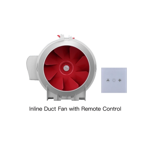 Inline Fan | Mixed Flow Fan with Remote Control